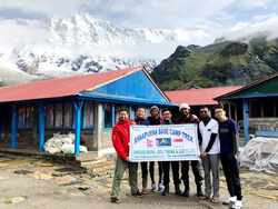 Annapurna I, 8091m View From Base Camp