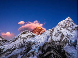 Sunrise View Of Everest 8848m