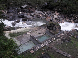 Natural Hot Spring in Chalish Village