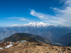 Spectacular View From Lauribinaya 4000m