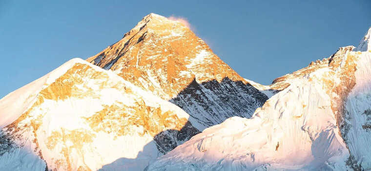 Breathtaking View of Mt Everest