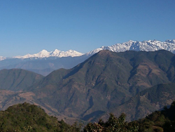 Incredible view from Helambu Trek