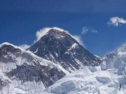 Splendid View Of Mt Everest 8848m