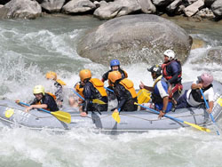 Kaligandaki River Raft