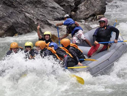 Rafting to Kaligandaki